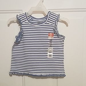Faded Glory 12 month striped tank top